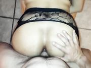 Latina Milf Fucked in the Ass